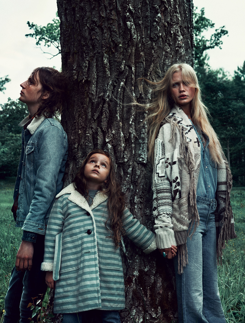 Elle Sweden October 2015 editorial - model Camilla Christensen