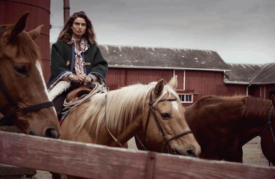 Vogue Spain - model Andreea Diaconu