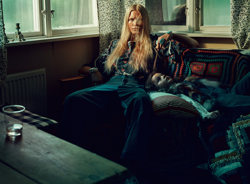 Elle Sweden October 2015 - model Camilla Christensen