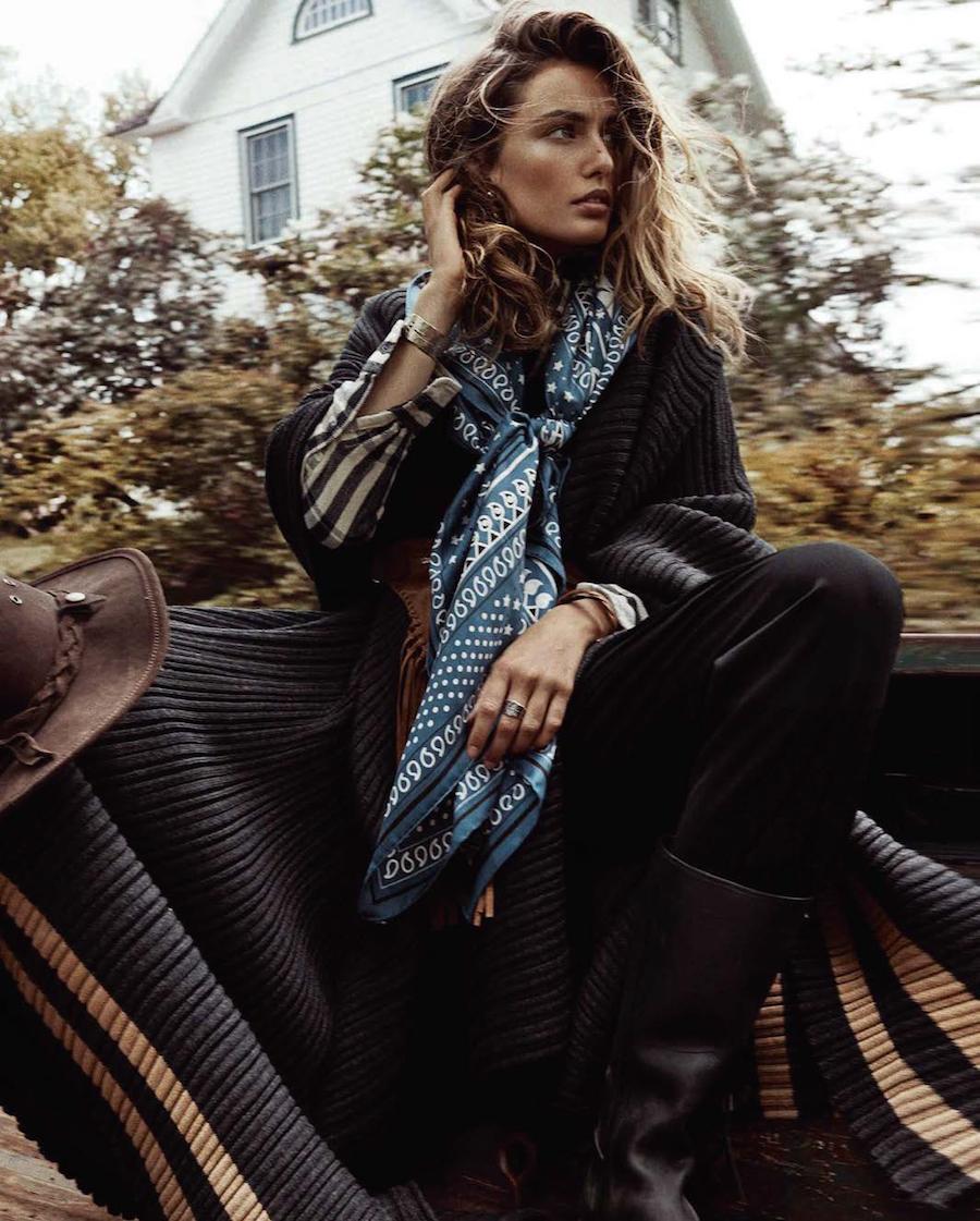 """Vogue Spain October 2015 """"Nuevos Territorios"""" - Andreea Diaconu"""