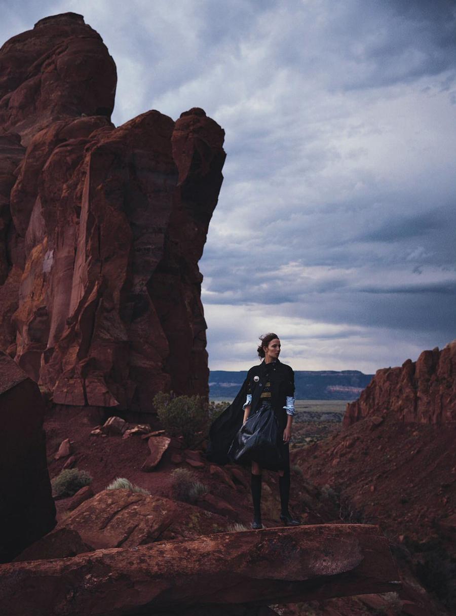 Vogue Australia - Waleska Gorczevski