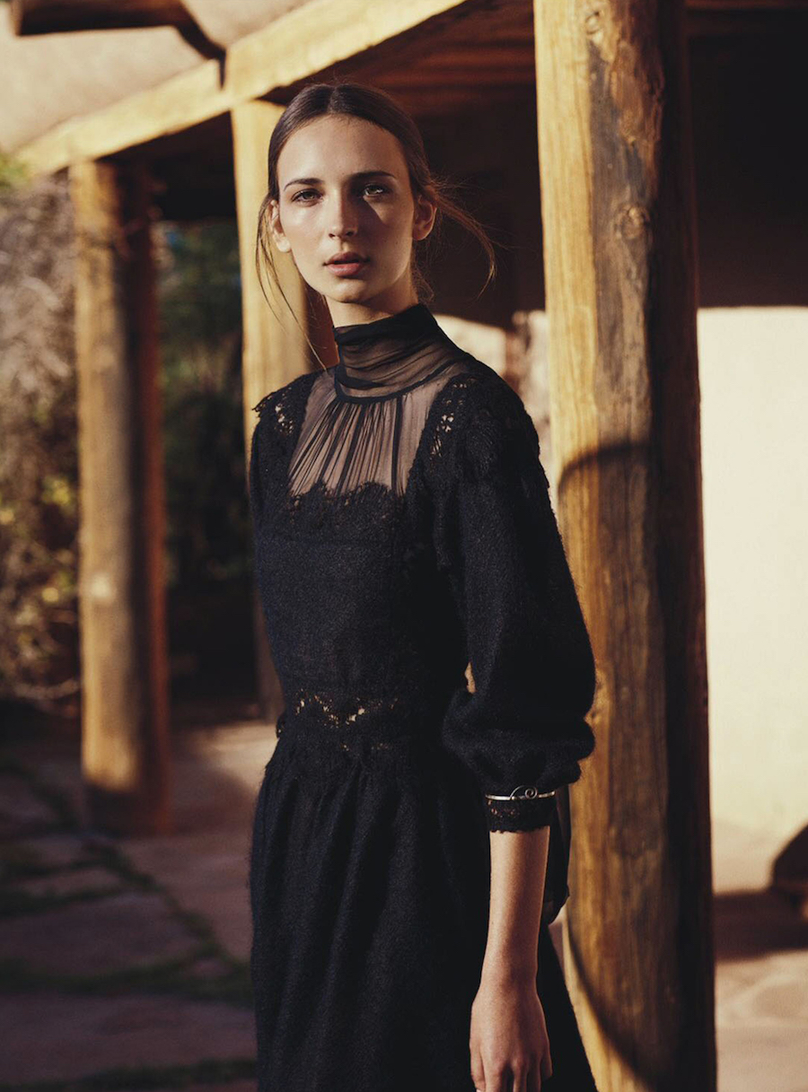 Vogue Australia Still Life - model Waleska Gorczevski