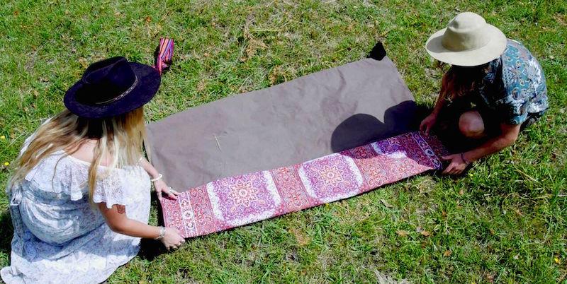 bohemian picnic rug