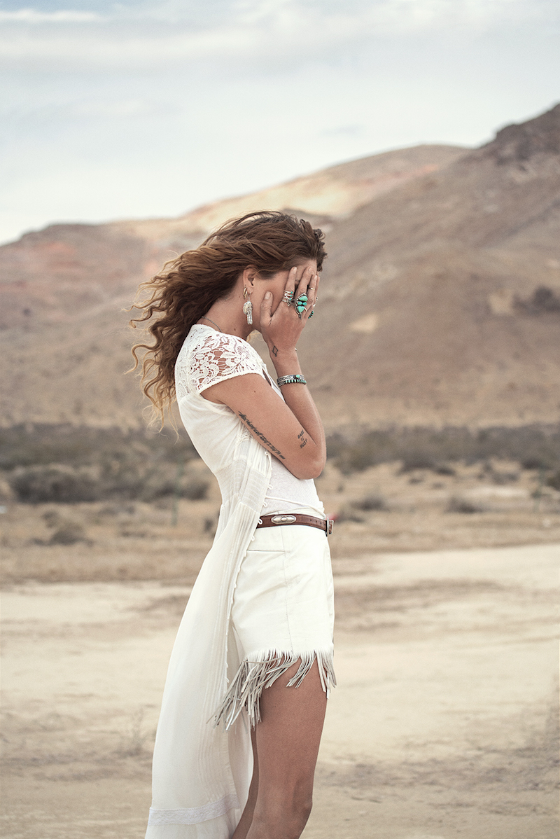 Sunset Road lookbook with Erin Wasson