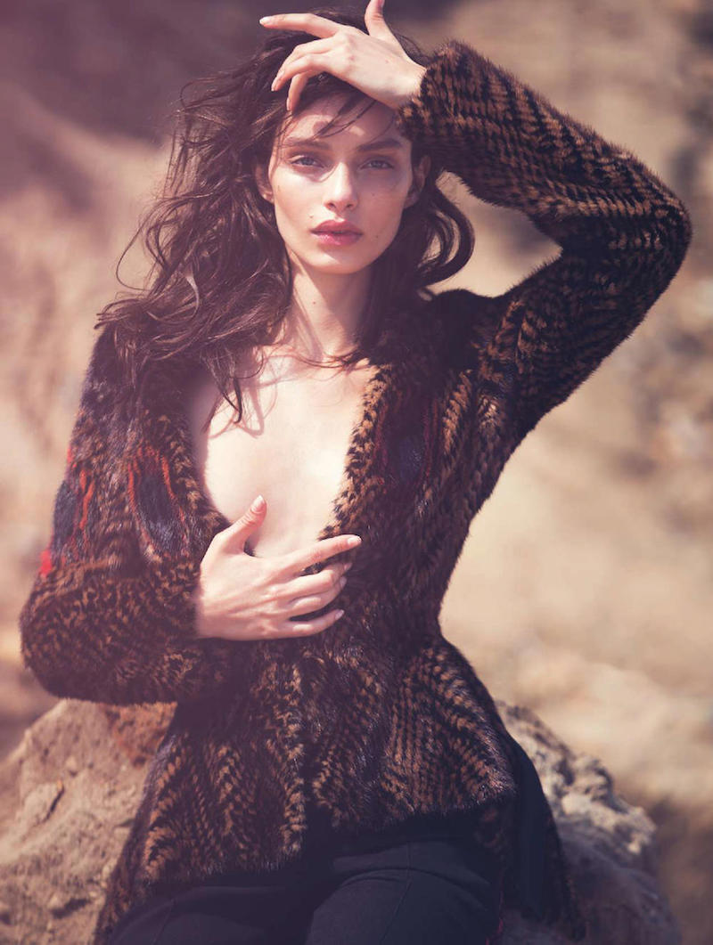 model Luma Grothe by David Bellemere