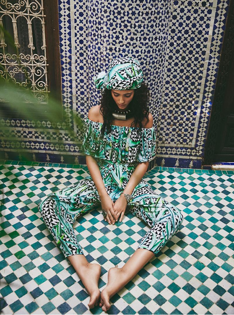 "Mara Hoffman ""A Moroccan Dream"" by Olivia Malone"