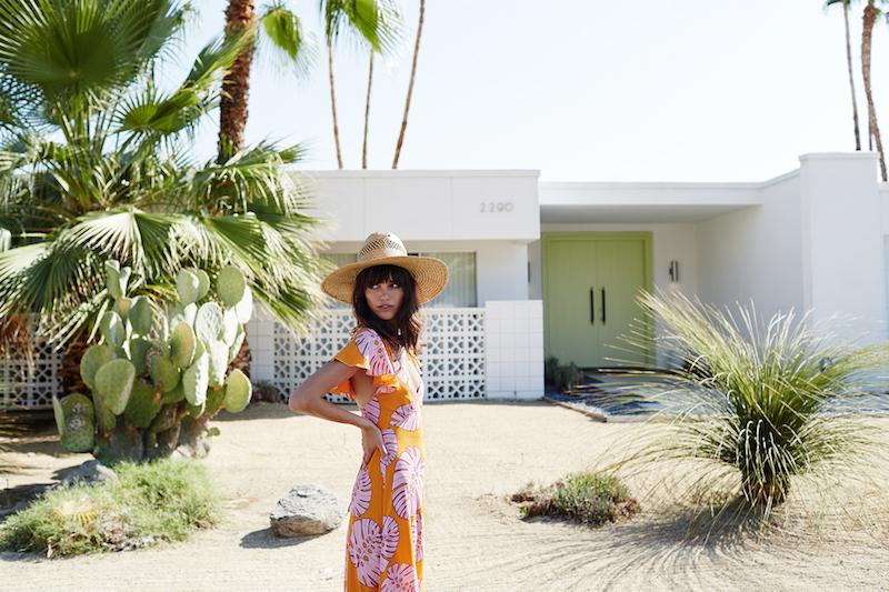 Mister Zimi Palm Springs campaign - Samantha Basalari