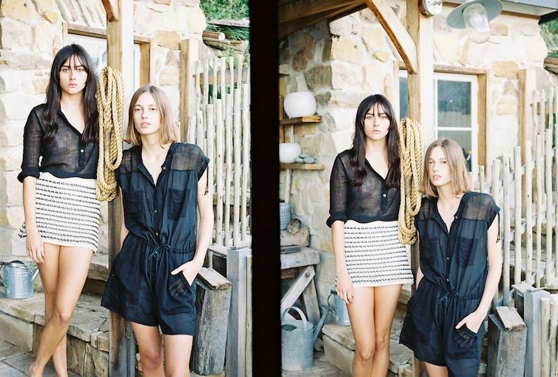 models Mali Koopman & Annabelle Harbison