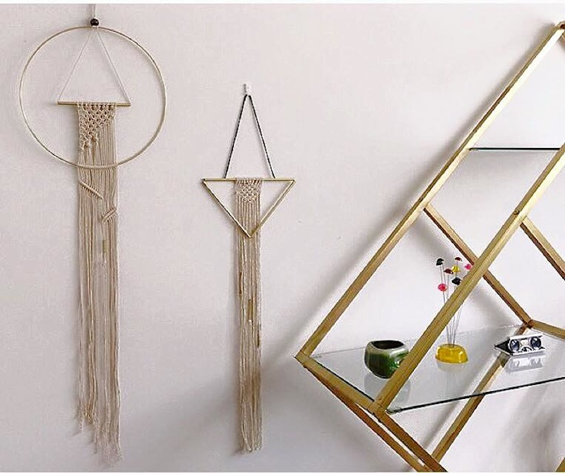 handcrafted modern macrame & wall hangings by Roy Delgado
