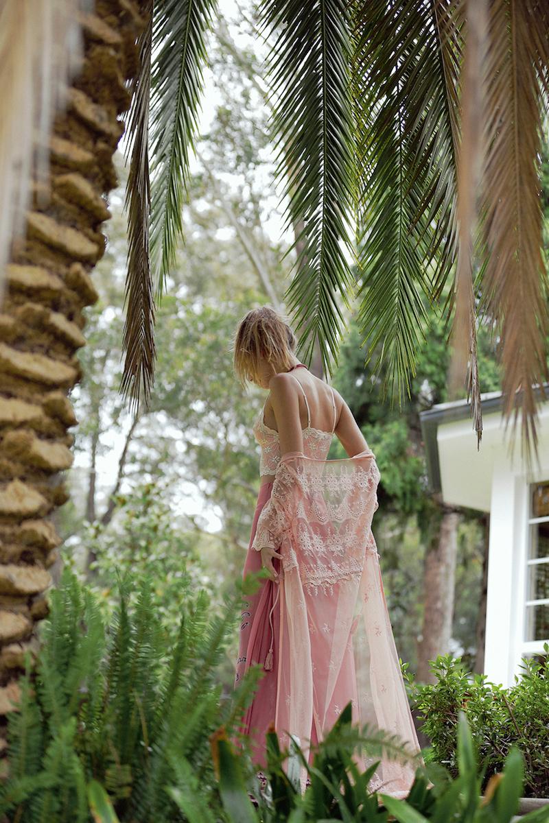 Arnhem Clothing lace duster kimono