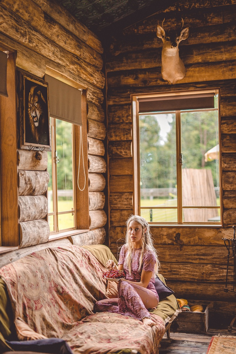 beauty in the cabin