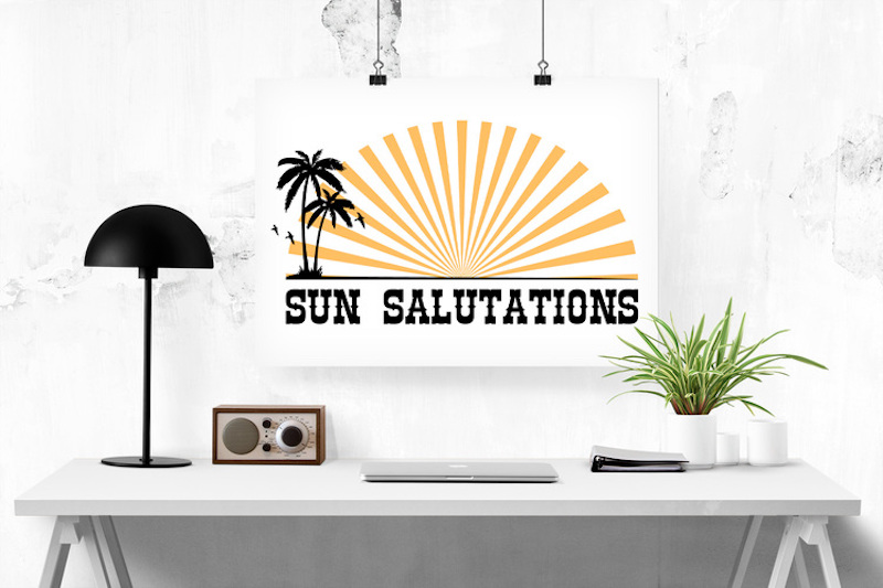 SunSalutations-Black-Desk
